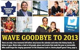 Metro takes a look at 2013