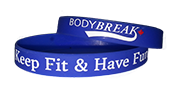 BodyBreak + Keep Fit & Have Fun Wristband