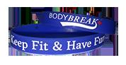 BodyBreak + Keep Fit & Have Fun Wristband